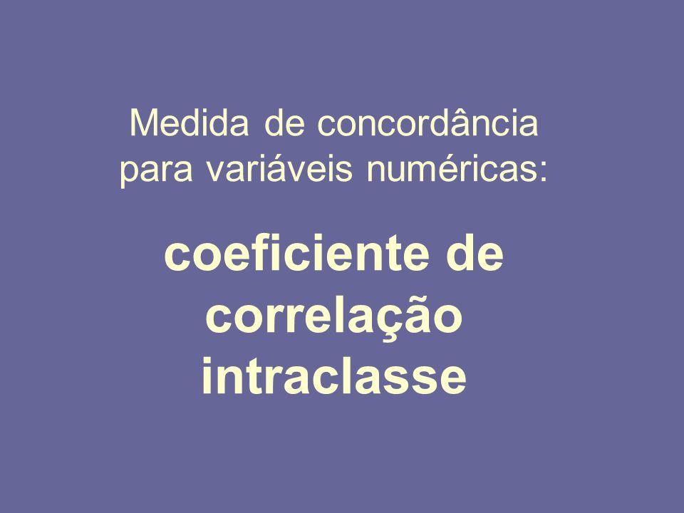 coeficiente de correlação intraclasse