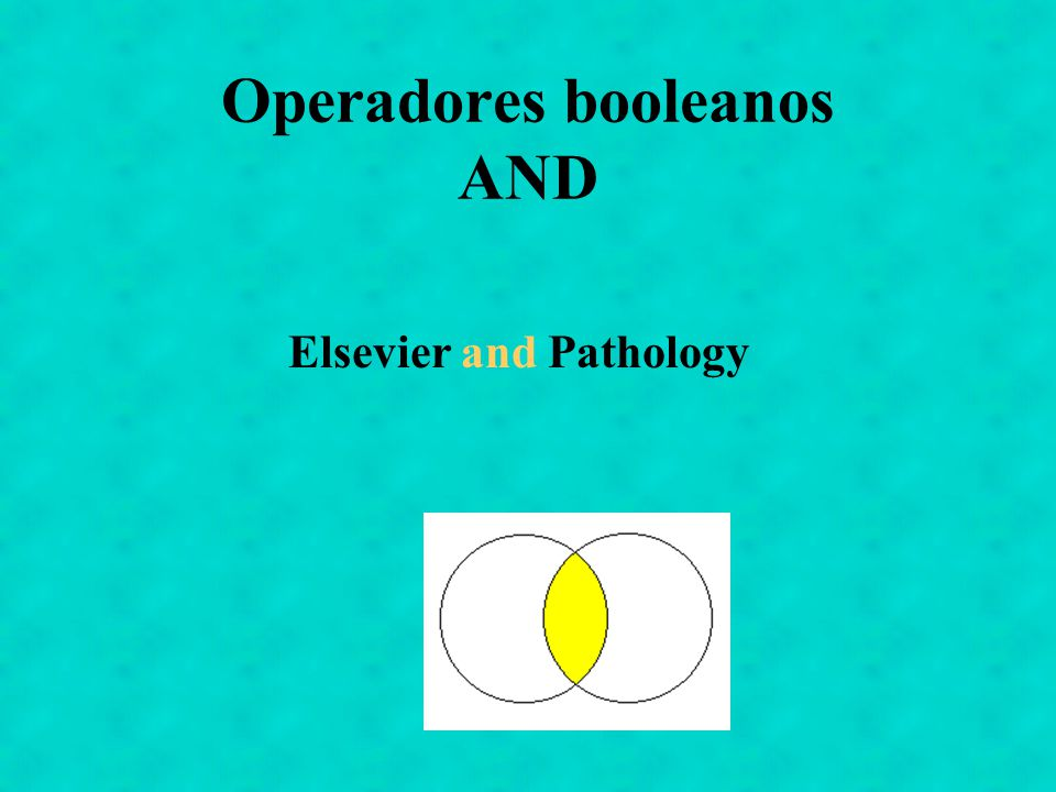 Operadores booleanos AND