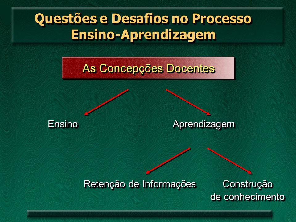Questões e Desafios no Processo Ensino-Aprendizagem
