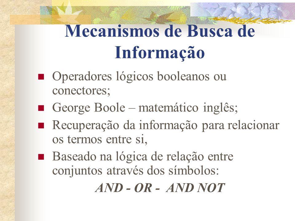 Mecanismos de Busca de Informação
