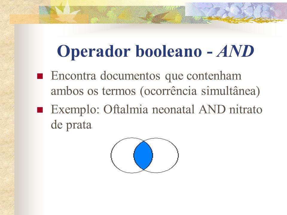 Operador booleano - AND
