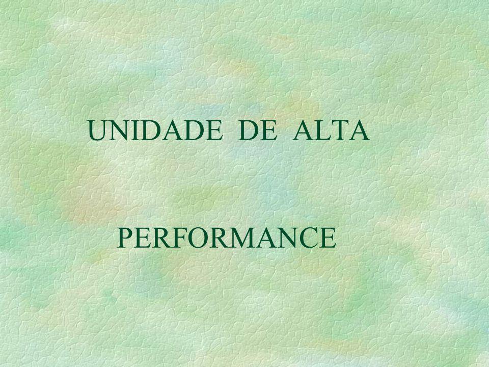 UNIDADE DE ALTA PERFORMANCE