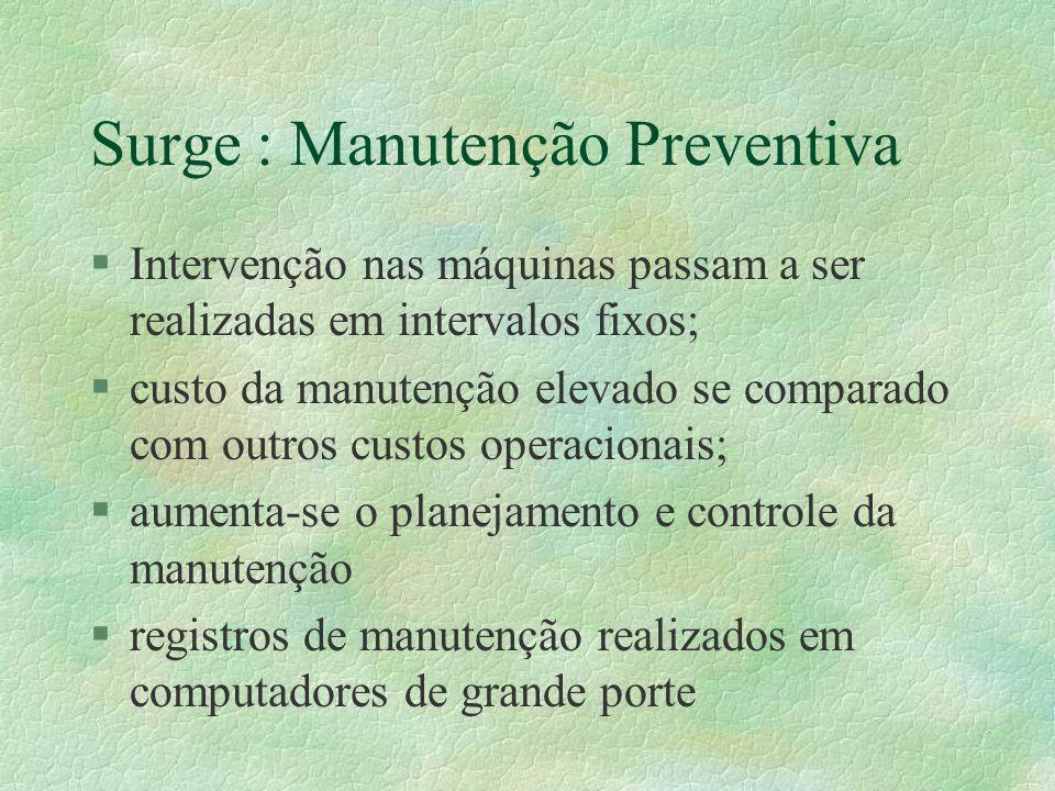 Surge : Manutenção Preventiva