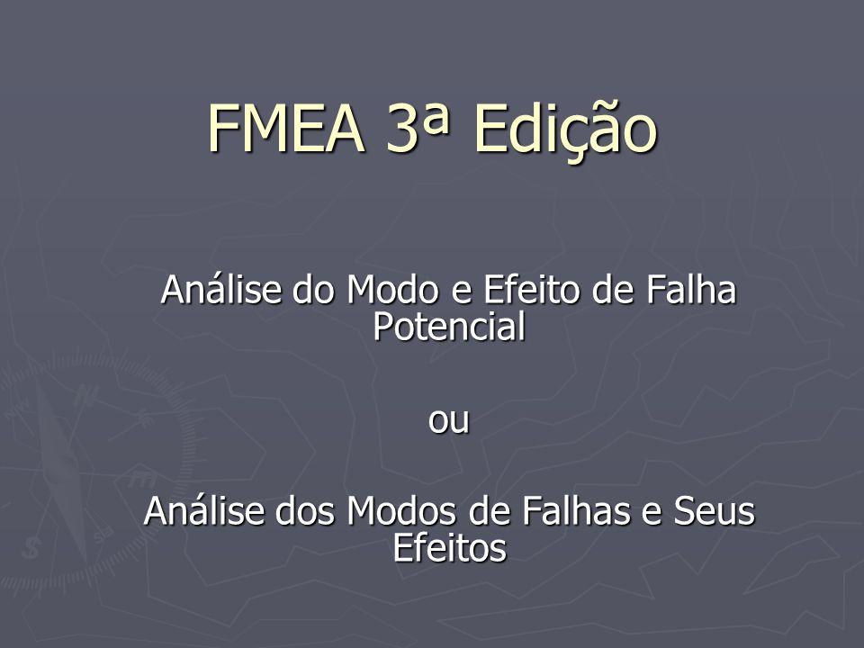FMEA 3ª Edição Análise do Modo e Efeito de Falha Potencial ou