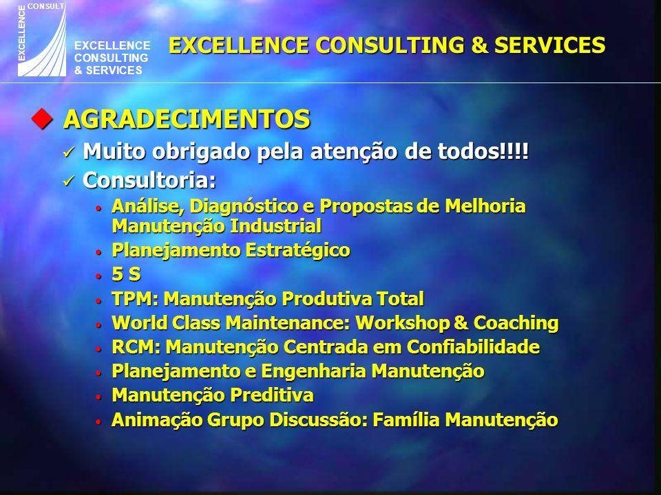 EXCELLENCE CONSULTING & SERVICES