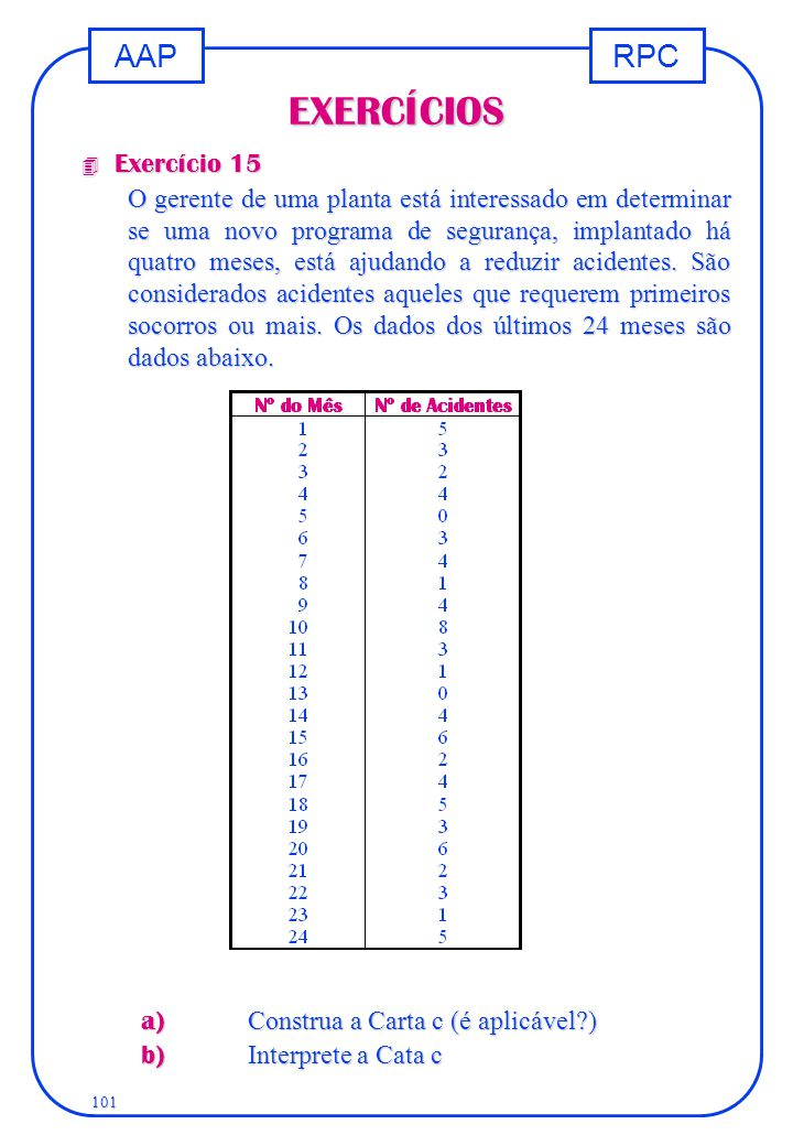 EXERCÍCIOS Exercício 15.