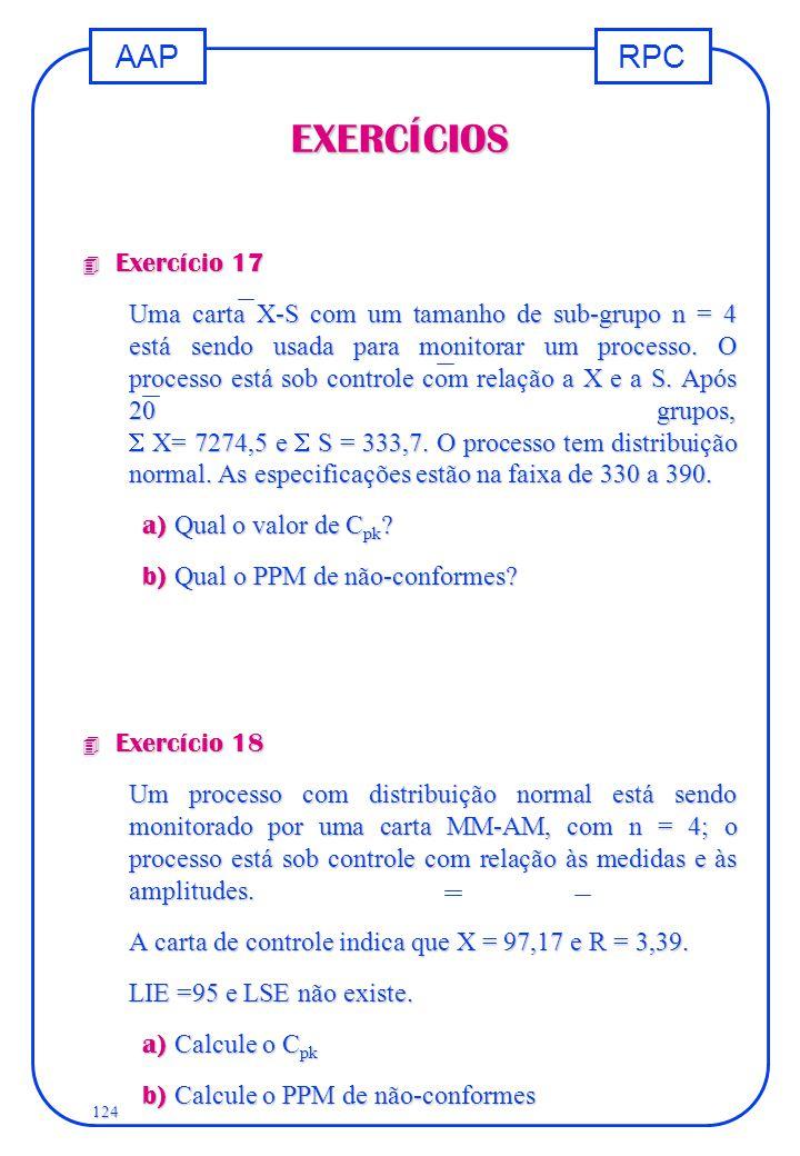 EXERCÍCIOS Exercício 17.