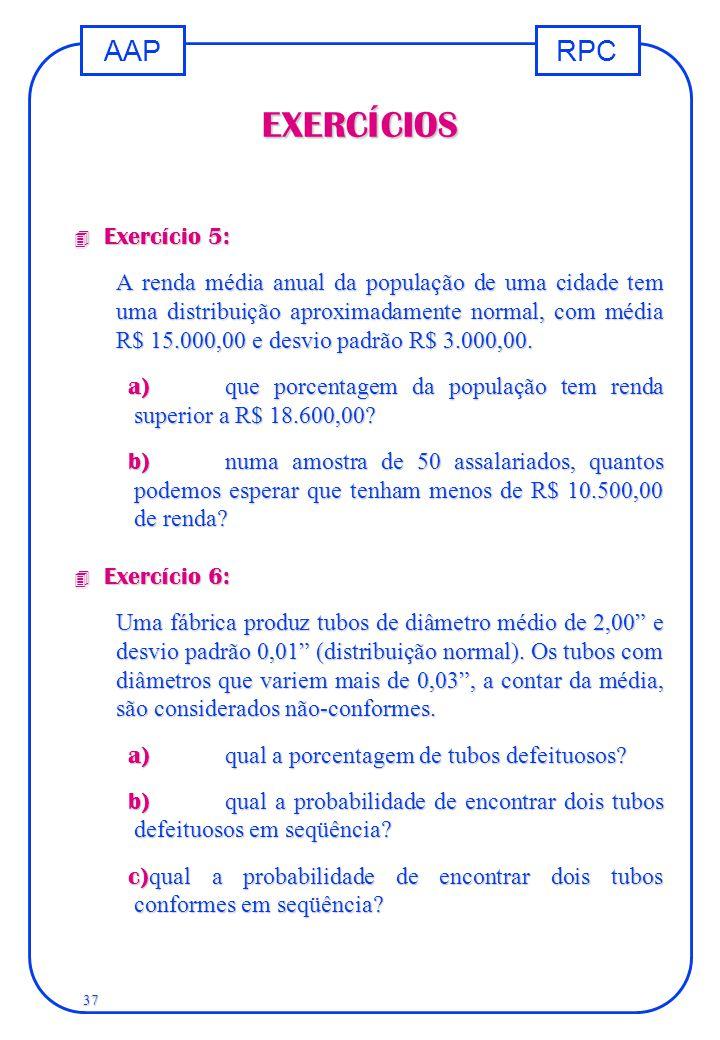 EXERCÍCIOS Exercício 5: