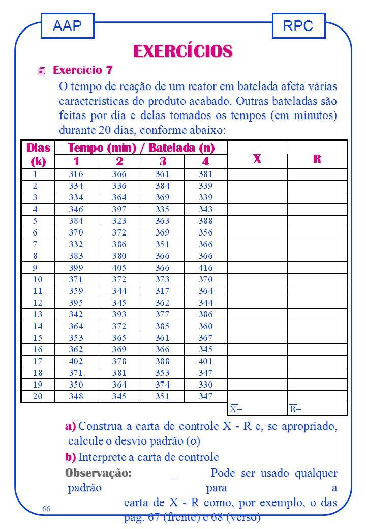 EXERCÍCIOS Exercício 7.