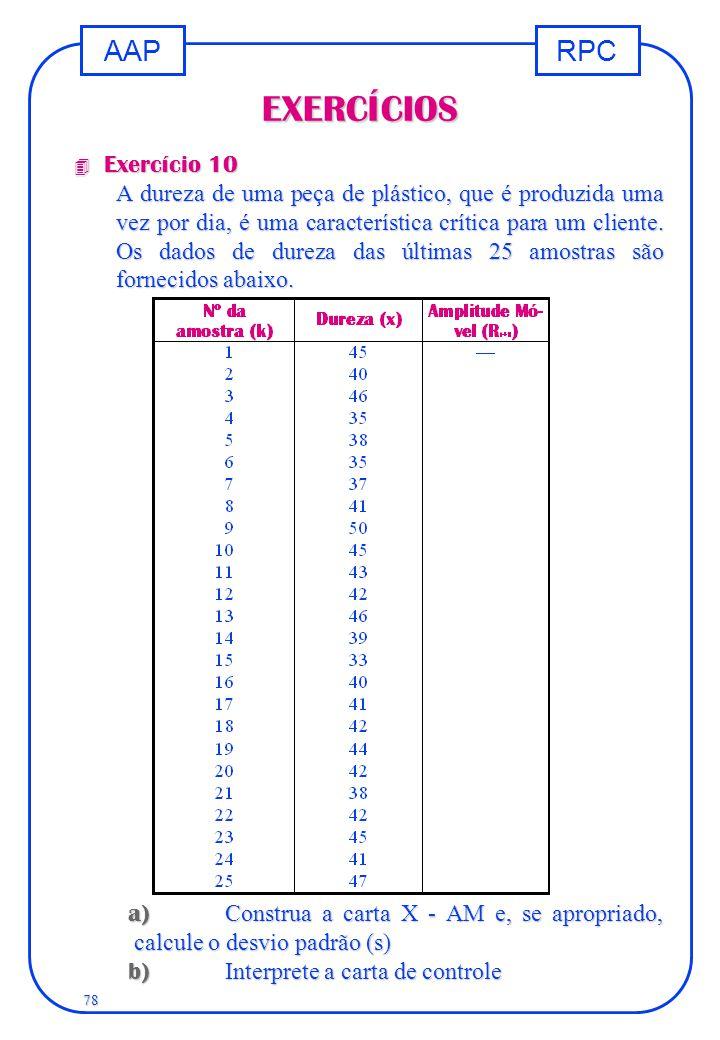 EXERCÍCIOS Exercício 10.