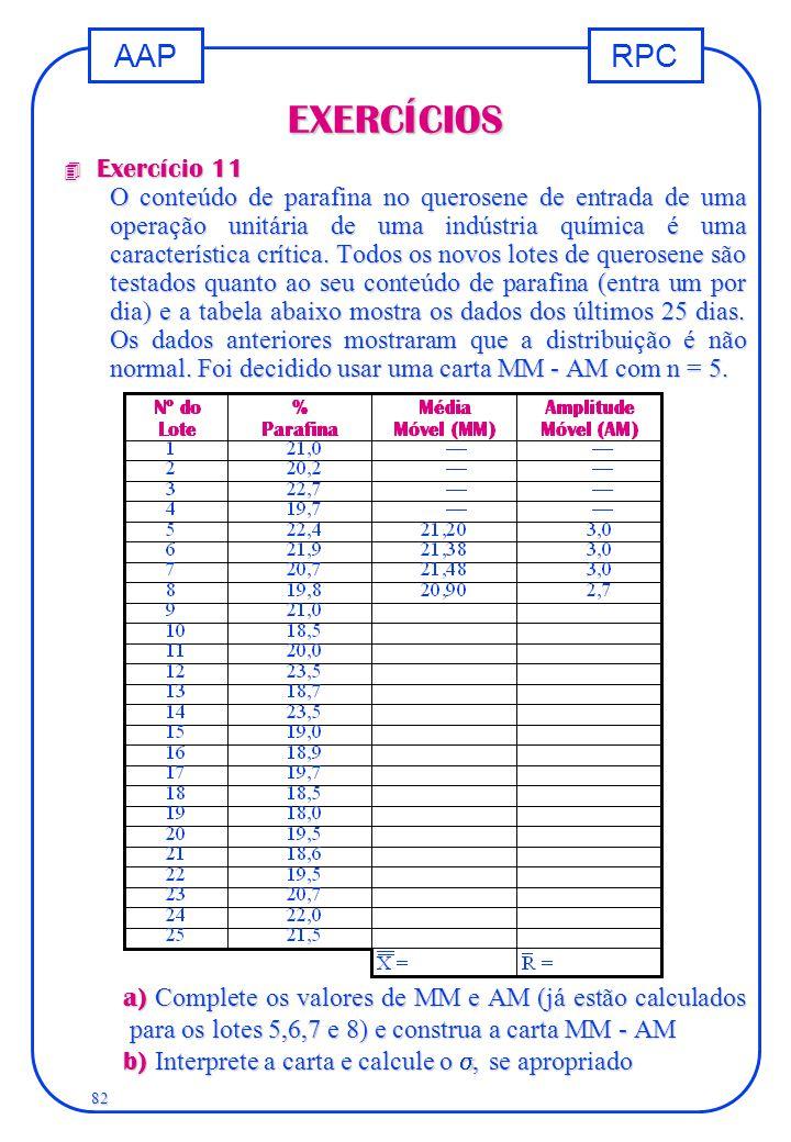 EXERCÍCIOS Exercício 11.