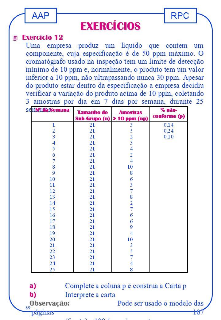 EXERCÍCIOS Exercício 12.
