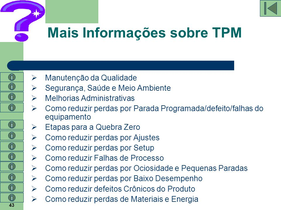 Mais Informações sobre TPM