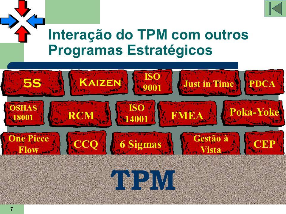 Interação do TPM com outros Programas Estratégicos