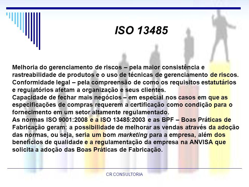 ISO 13485 Melhoria do gerenciamento de riscos – pela maior consistência e.