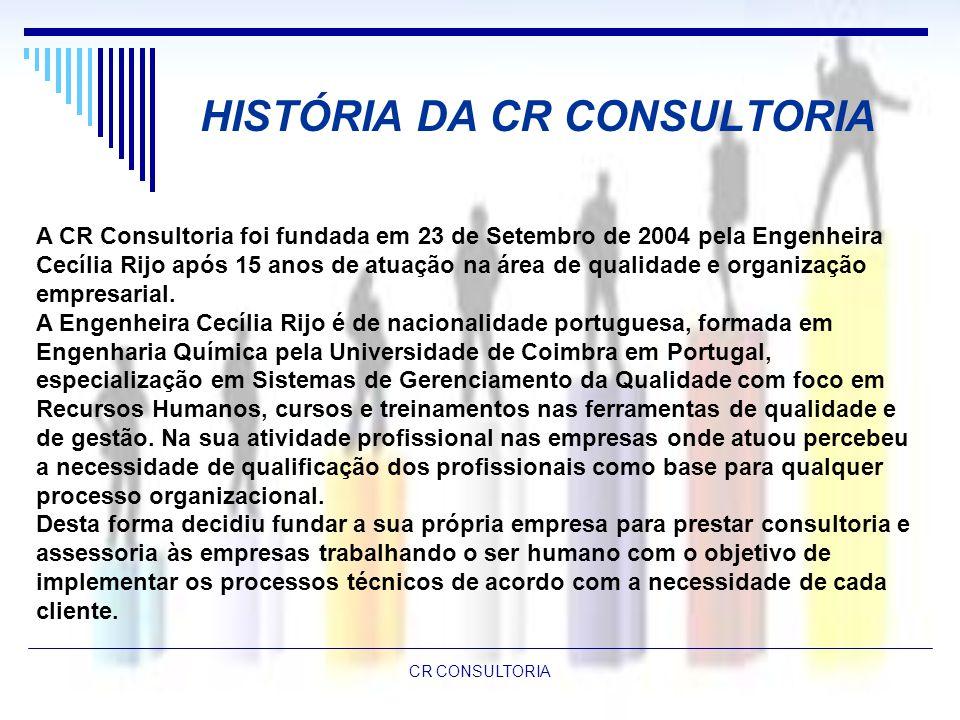 HISTÓRIA DA CR CONSULTORIA