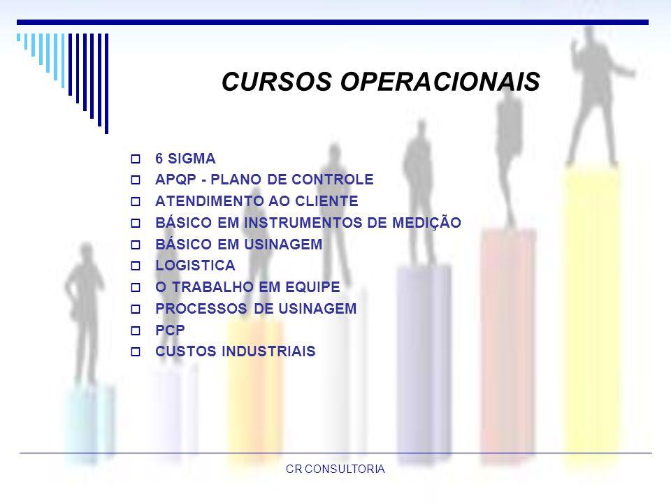 CURSOS OPERACIONAIS 6 SIGMA APQP - PLANO DE CONTROLE