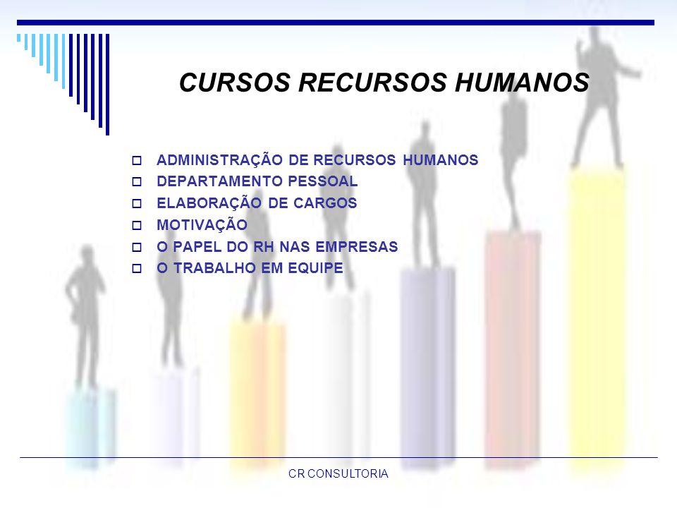 CURSOS RECURSOS HUMANOS