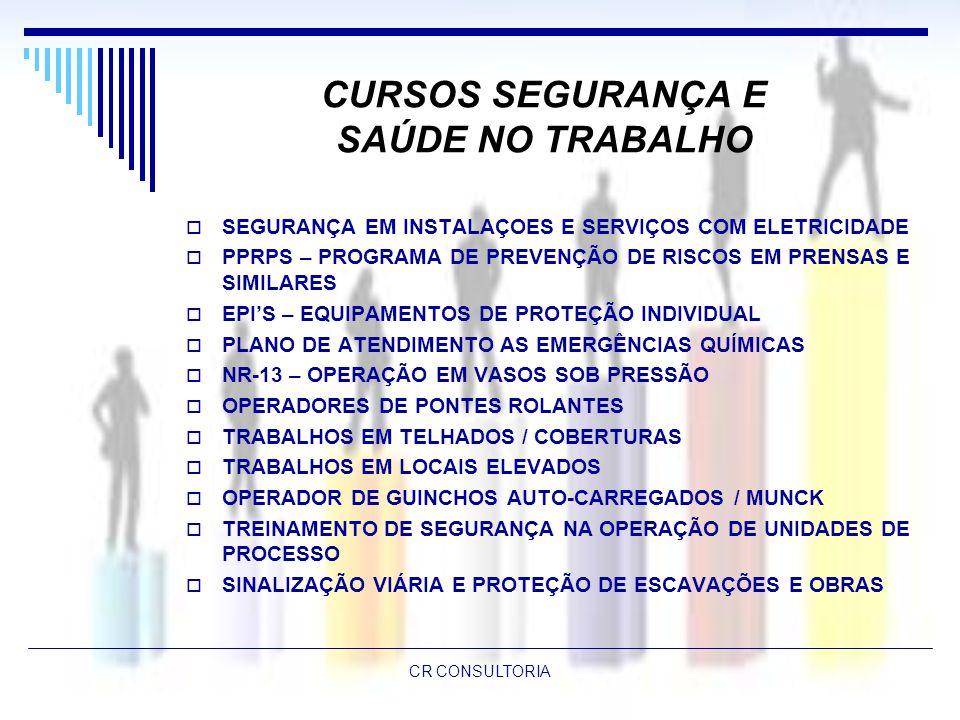 CURSOS SEGURANÇA E SAÚDE NO TRABALHO