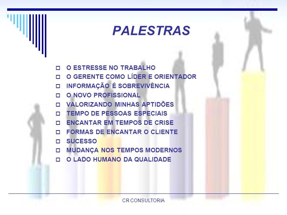 PALESTRAS O ESTRESSE NO TRABALHO O GERENTE COMO LÍDER E ORIENTADOR