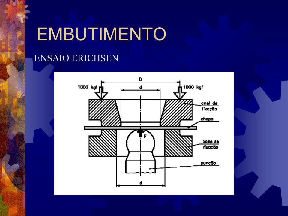 EMBUTIMENTO ENSAIO ERICHSEN