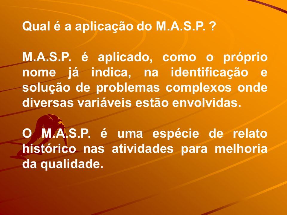 Qual é a aplicação do M.A.S.P.