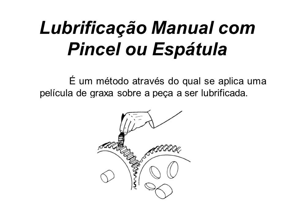 Lubrificação Manual com Pincel ou Espátula