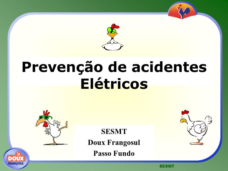 Prevenção de acidentes Elétricos