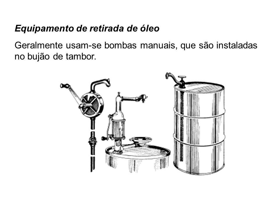 Equipamento de retirada de óleo