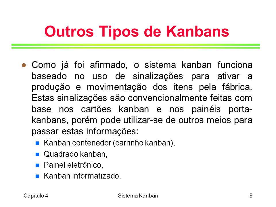 Outros Tipos de Kanbans
