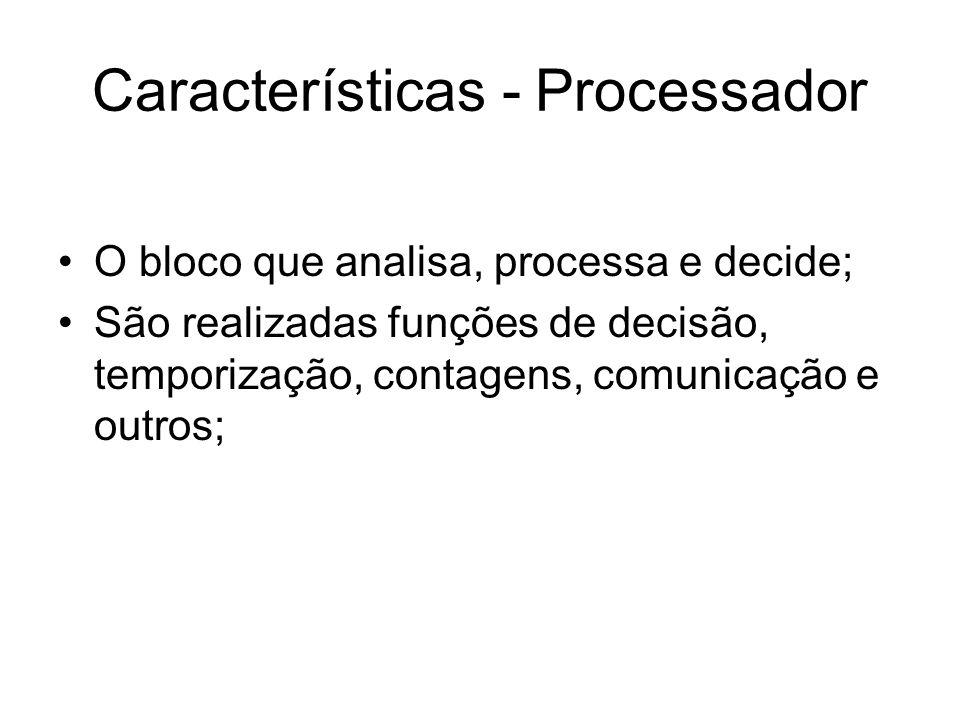 Características - Processador
