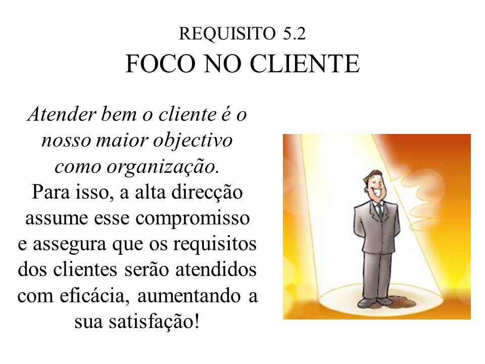 Atender bem o cliente é o nosso maior objectivo como organização.