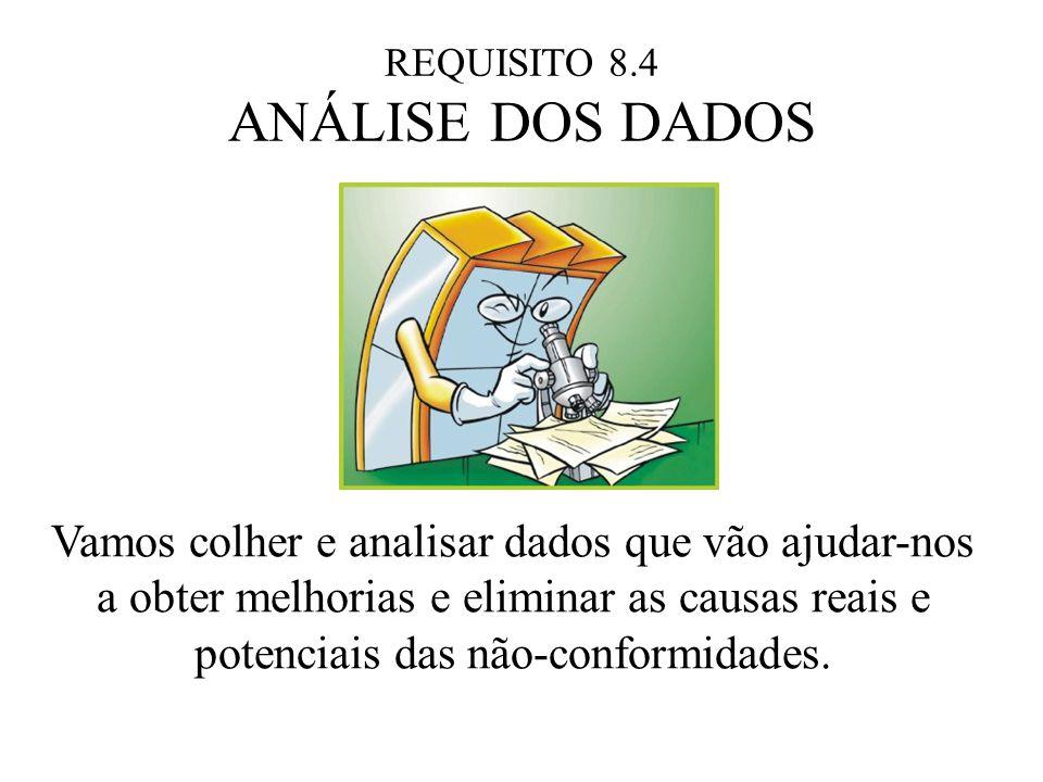 REQUISITO 8.4 ANÁLISE DOS DADOS.