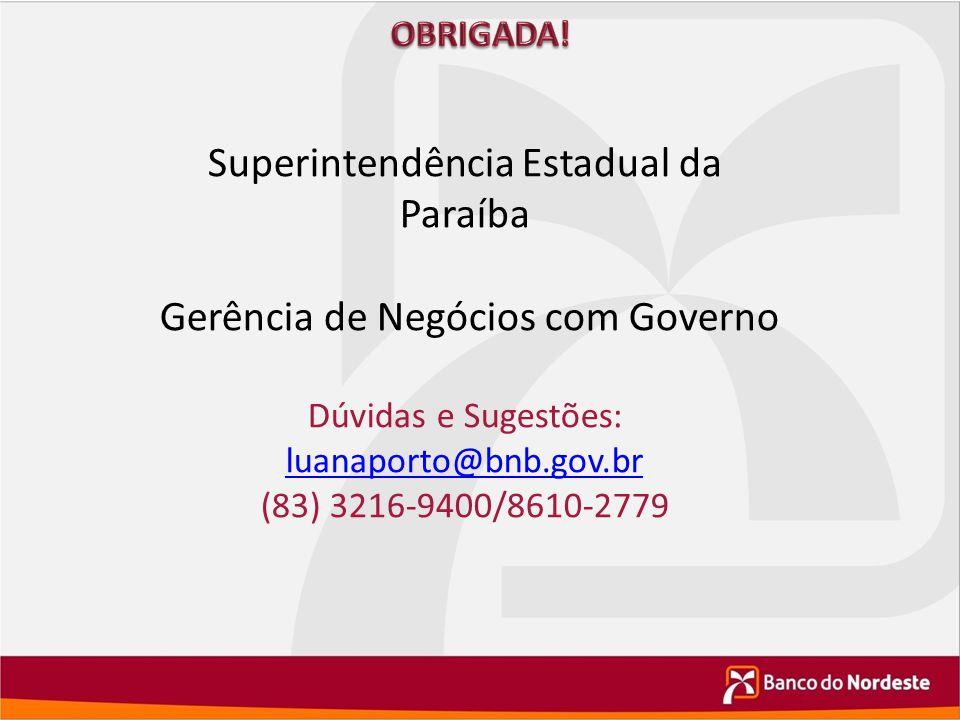 Superintendência Estadual da Paraíba