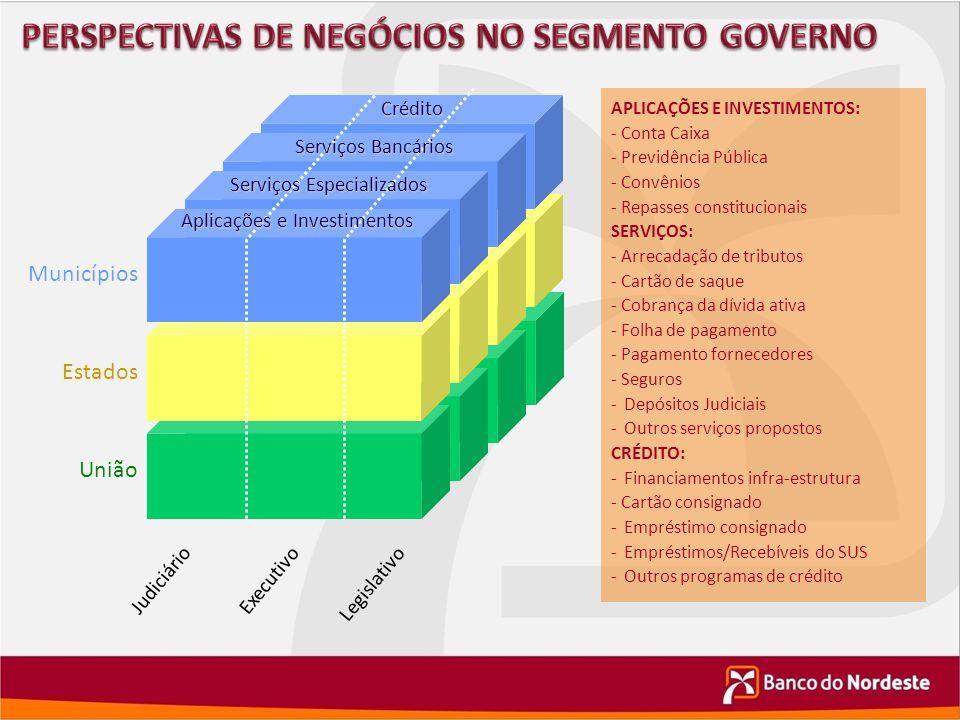PERSPECTIVAS DE NEGÓCIOS NO SEGMENTO GOVERNO
