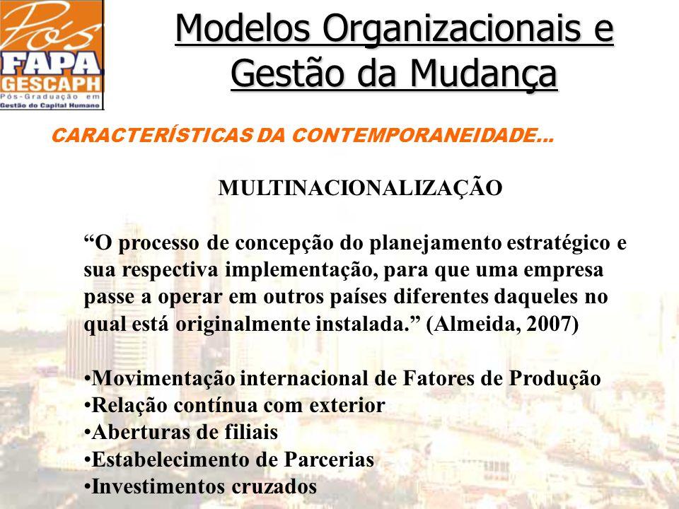 Movimentação internacional de Fatores de Produção