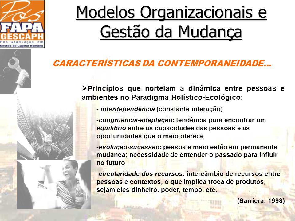 CARACTERÍSTICAS DA CONTEMPORANEIDADE...