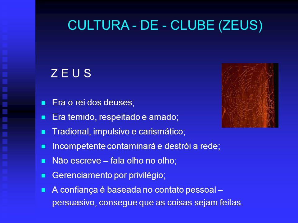 CULTURA - DE - CLUBE (ZEUS)