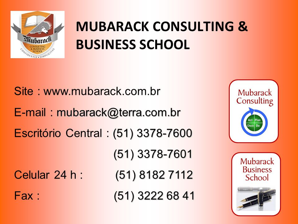 MUBARACK CONSULTING & BUSINESS SCHOOL