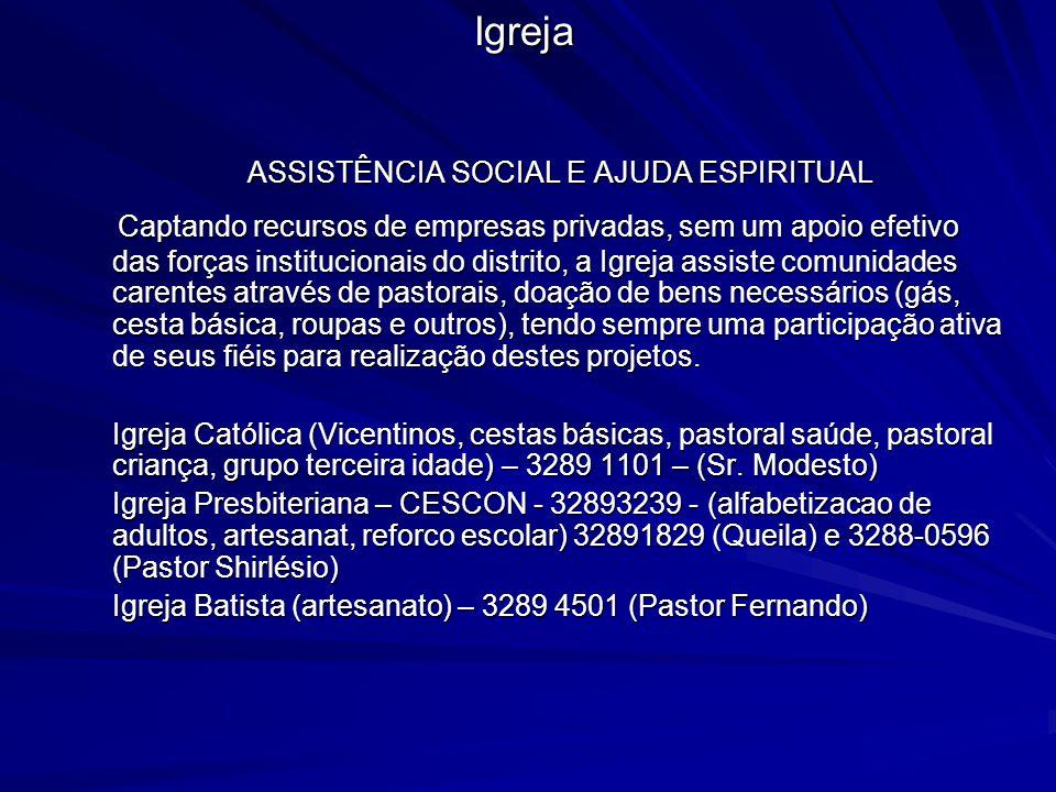 ASSISTÊNCIA SOCIAL E AJUDA ESPIRITUAL