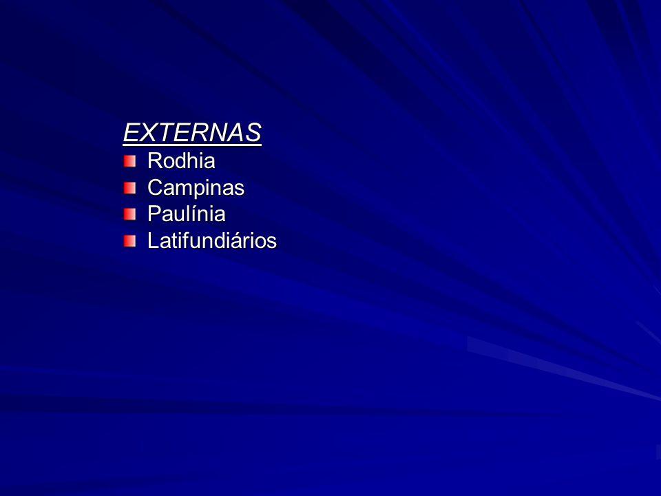 EXTERNAS Rodhia Campinas Paulínia Latifundiários