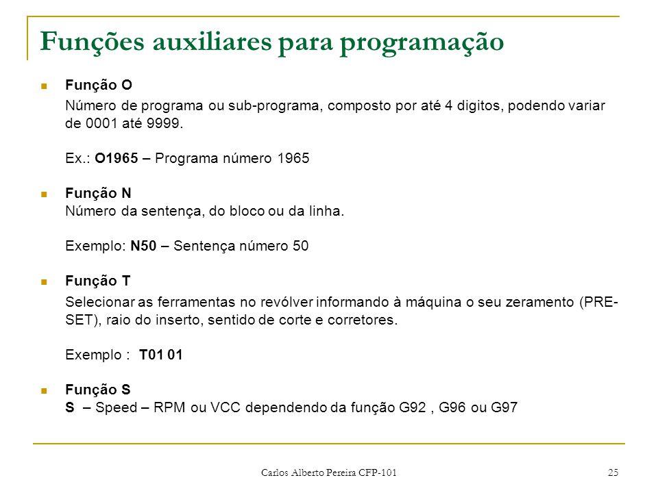 Funções auxiliares para programação