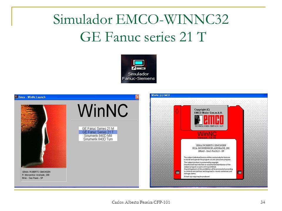 Simulador EMCO-WINNC32 GE Fanuc series 21 T