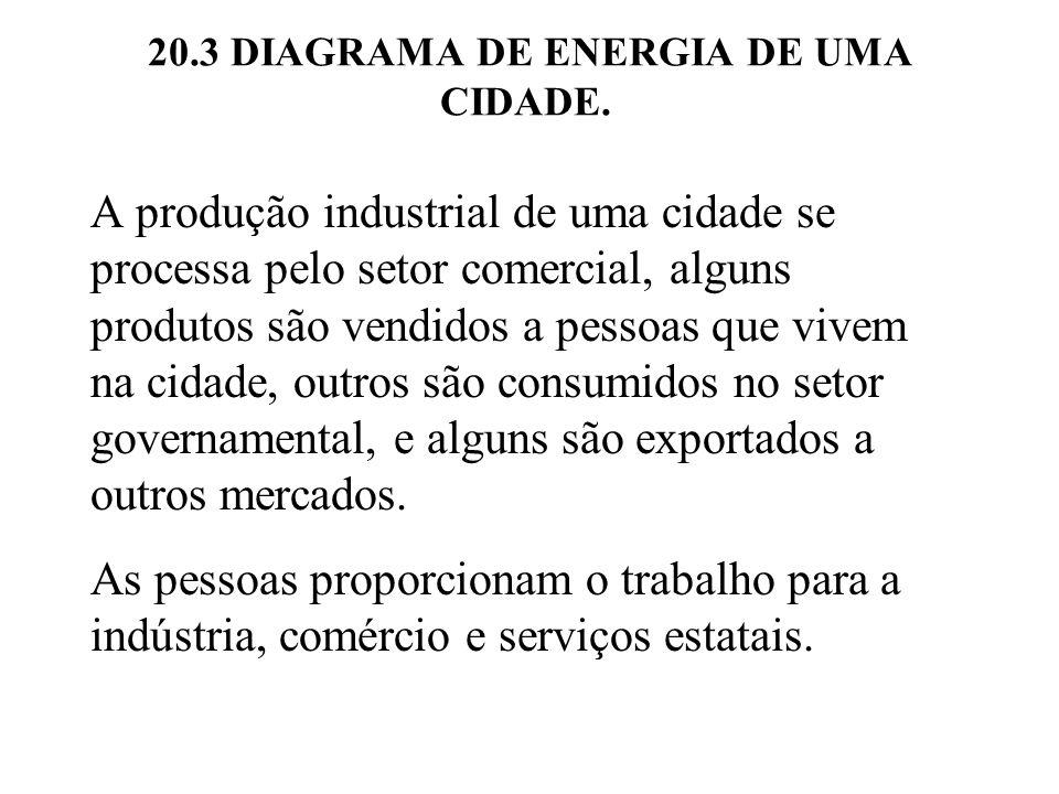 20.3 DIAGRAMA DE ENERGIA DE UMA CIDADE.