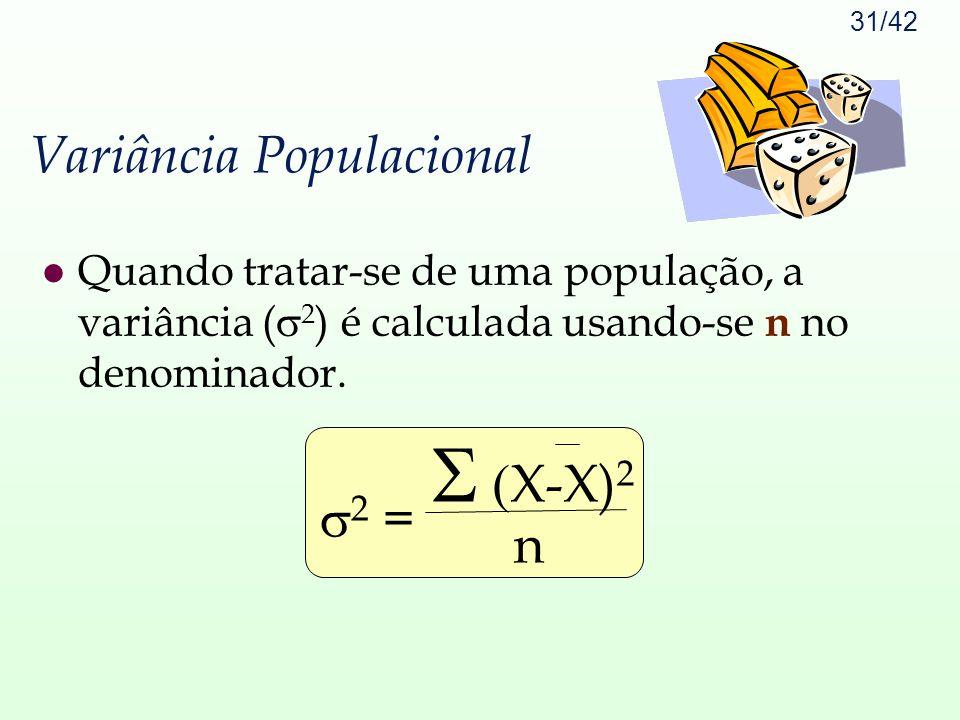 Variância Populacional