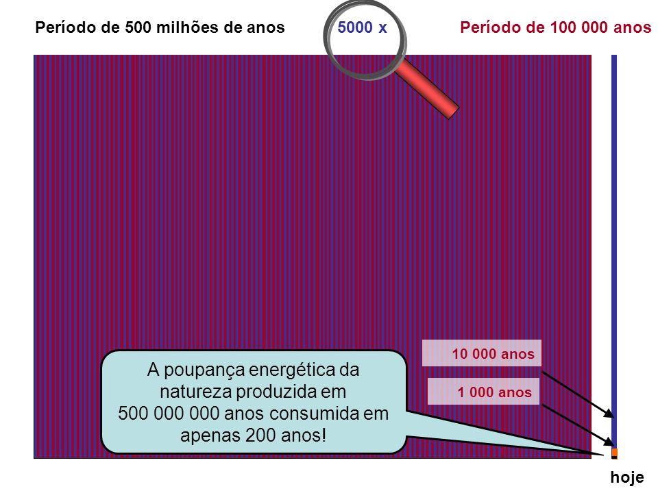 Período de 500 milhões de anos