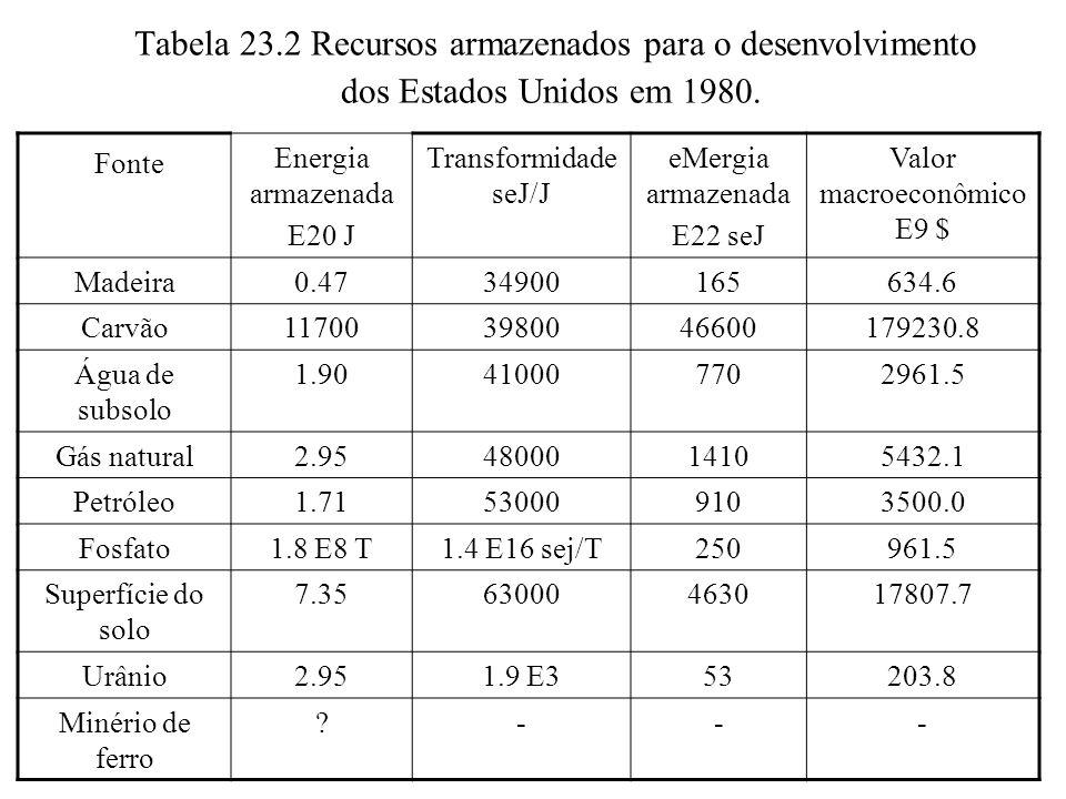 Valor macroeconômico E9 $