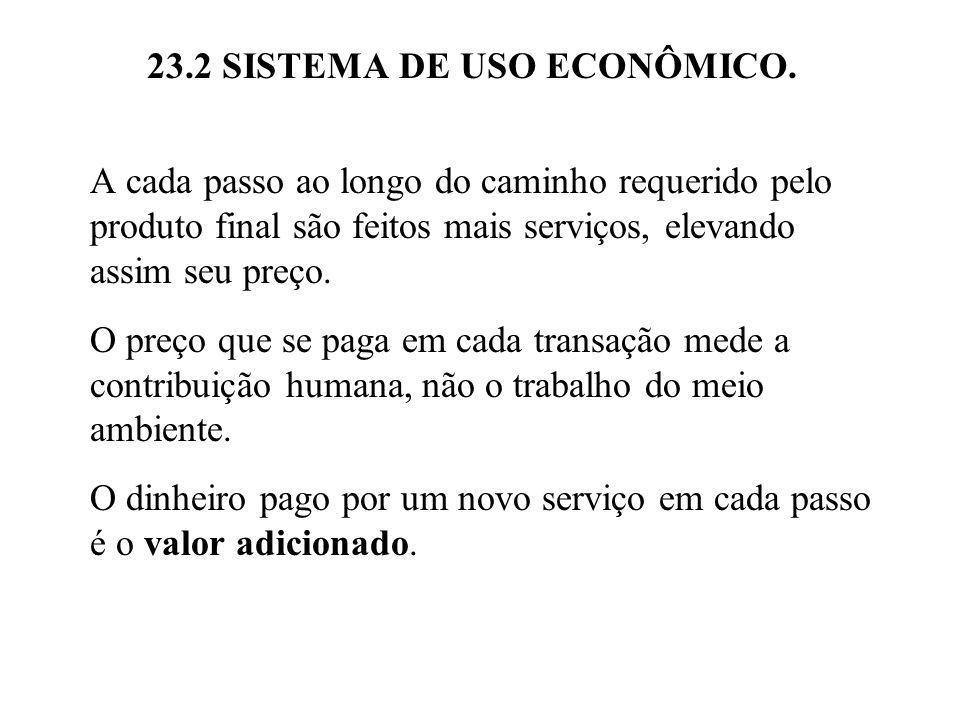 23.2 SISTEMA DE USO ECONÔMICO.