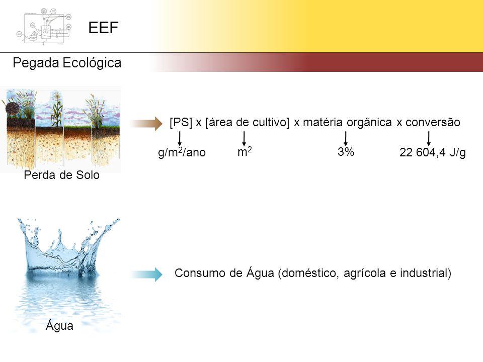 Consumo de Água (doméstico, agrícola e industrial)