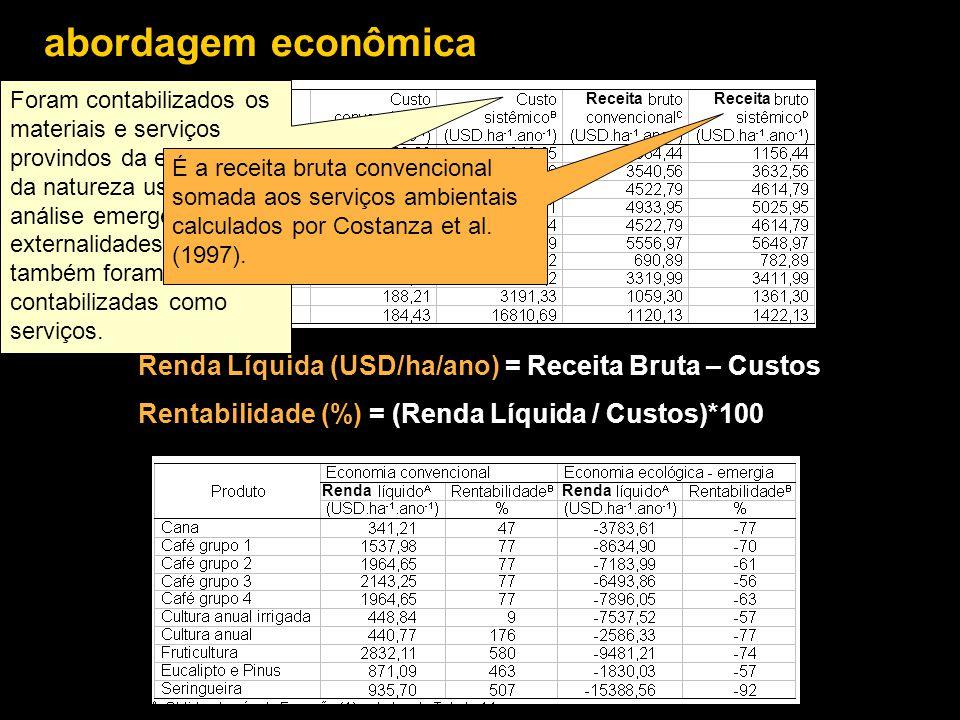 abordagem econômica